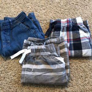 Lot of 3 pairs boys shorts